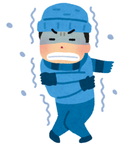 寒いイメージ